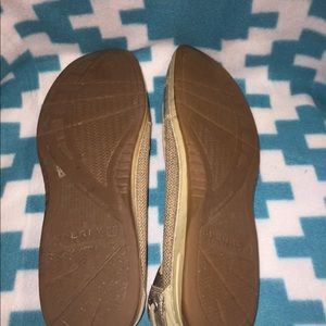 Sperry Shoes - Gold sperry top siders